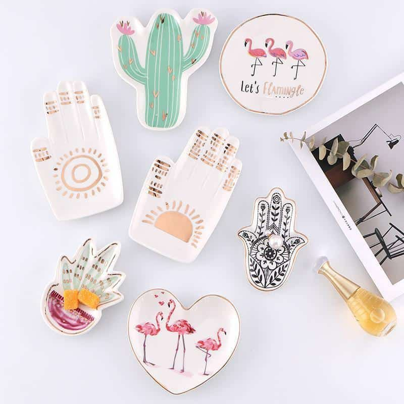 Emmelie Cactusiela Island Jewelry/Decorative Trays Decor