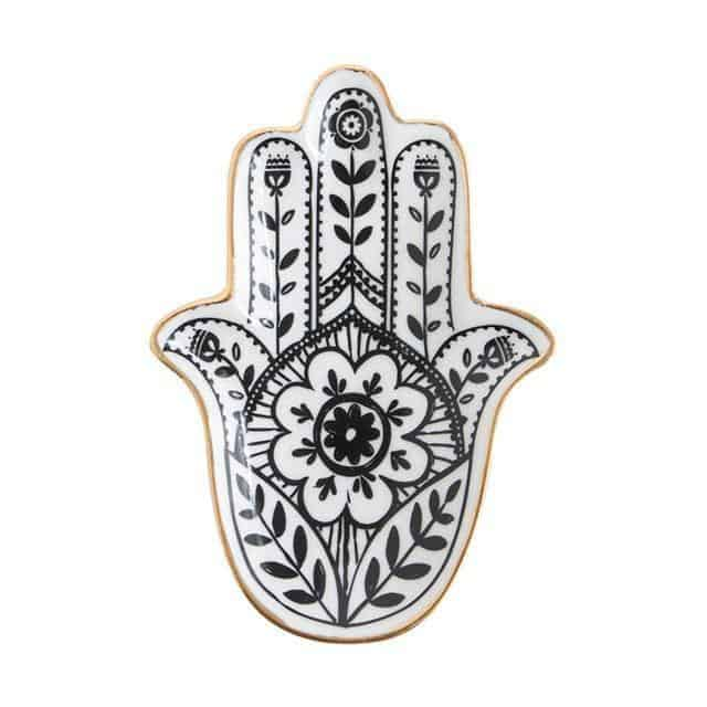 Emmelie Cactusiela Island Jewelry/Decorative Trays Decor Hand