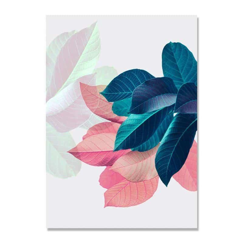 Colorful Flowers & Appeasement | Unframed Canvas Art