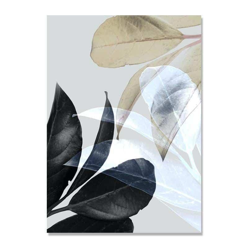 Colorful Flowers & Appeasement   Unframed Canvas Art unique and elegant Canvas print - Wall Art C / 50X70cm