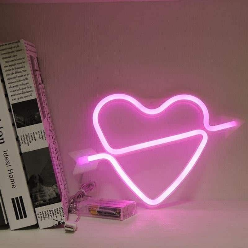 Superstar Mix&Match Wall Lamp unique and elegant Table Lamp Heart - pink