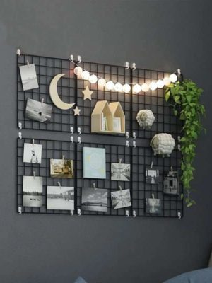 Exploration by Henry | | Metal Photo Wire Grid | Wall Creative Grid | Panel