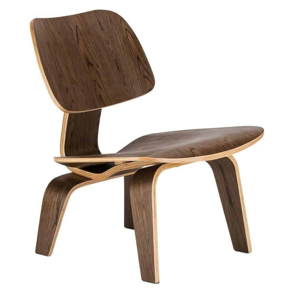 Marc Kandel Mid Century Lounge Chair / Walnut Chair