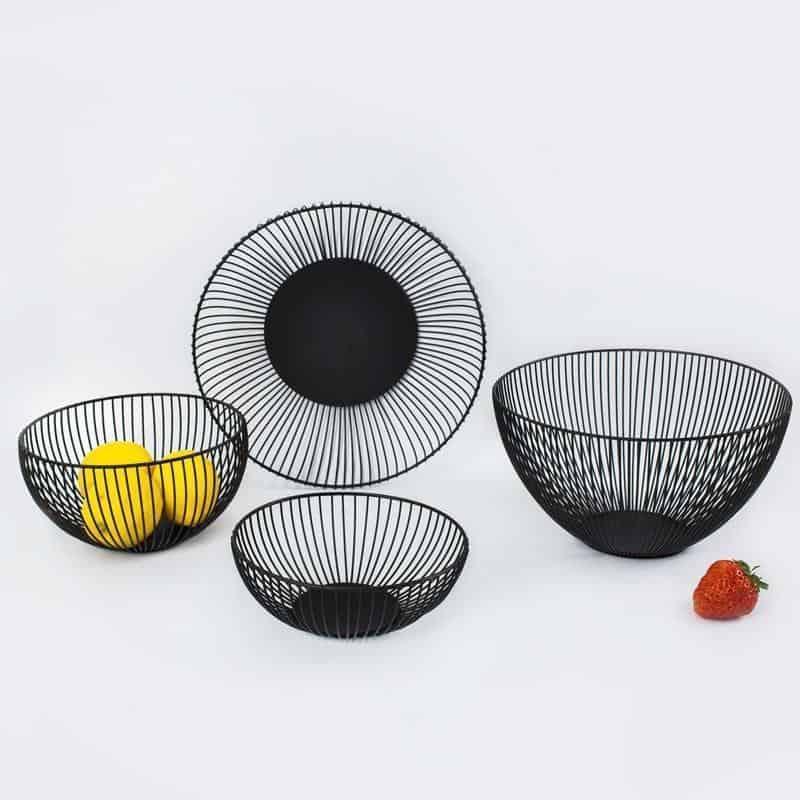 Frederick Vaux Geometiona Storage Baskets unique and elegant Basket