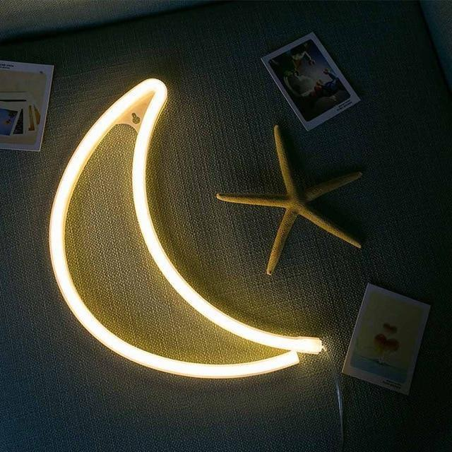 Superstar Love me NOW Wall/Desk Lamp Table/Wall lamp Moon