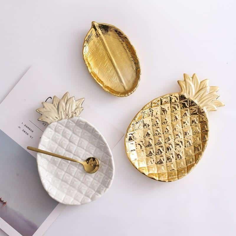 Pineapple by Jenny Alston Tableware/Organizer Decor Tray