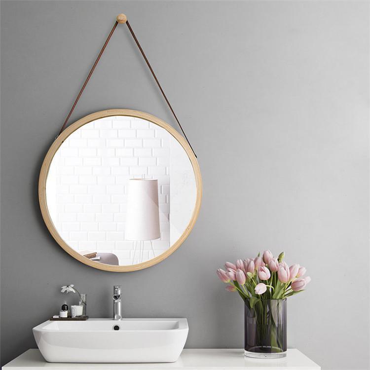 Clearshark by Bjorkman Fluttergold Vintage Round/Square Mirror Mirror Round Mirror