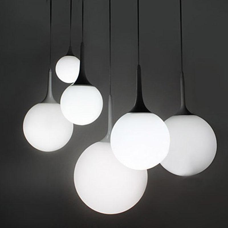 Whitelight Glass Globe Pendant Light unique and elegant Pendant lighting