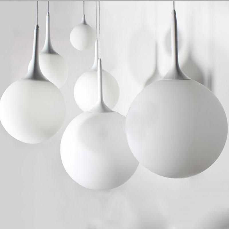 Whitelight Glass Globe Pendant Light unique and elegant Pendant lighting