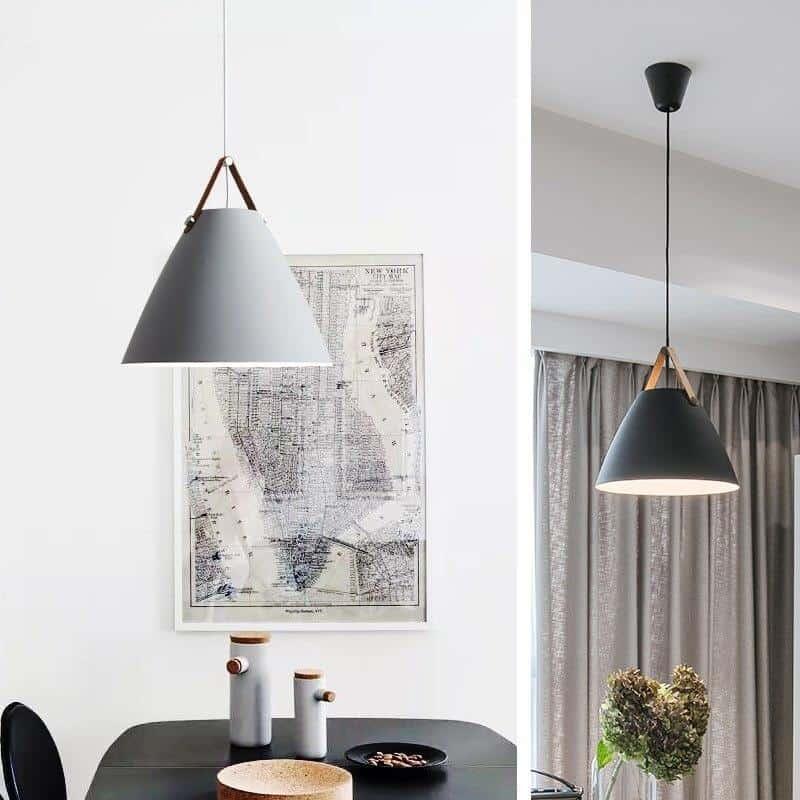 Lanterna Strap Nordic Style | Pendant Light