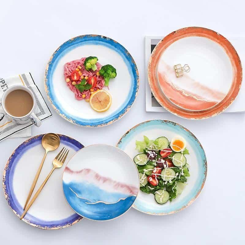 Fabienne Collection Plate unique and elegant Plates