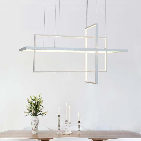 Cozy Cube 3Z LED Chandelier