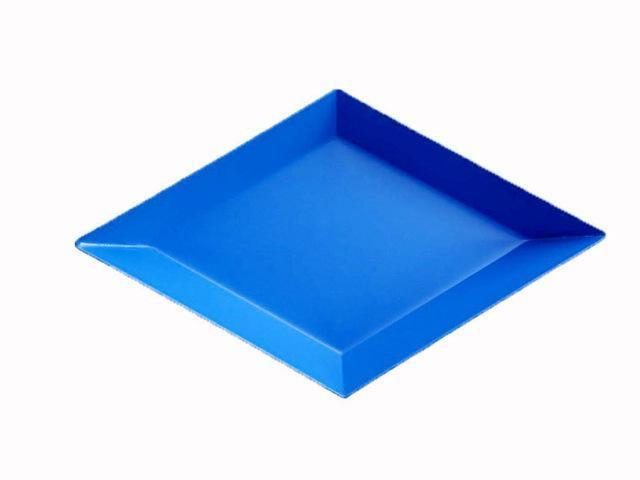 Polygon by Henry Jacobsson Tray Happy blue / S