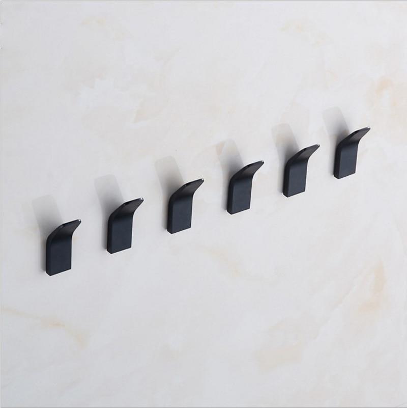 Capri & Simply Black Wall Hook 5pcs