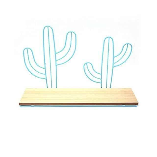 Nordic Iron Lilly-May Shelf blue / Cactus