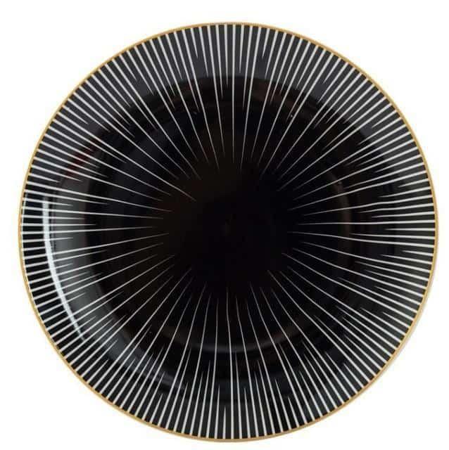 Geometry by Celiné Plates Soul by Celiné / 8 inch / 6 pcs
