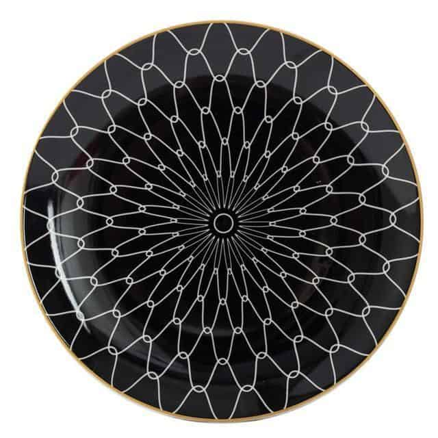 Geometry by Celiné Plates Hyper by Celiné / 8 inch / 6 pcs