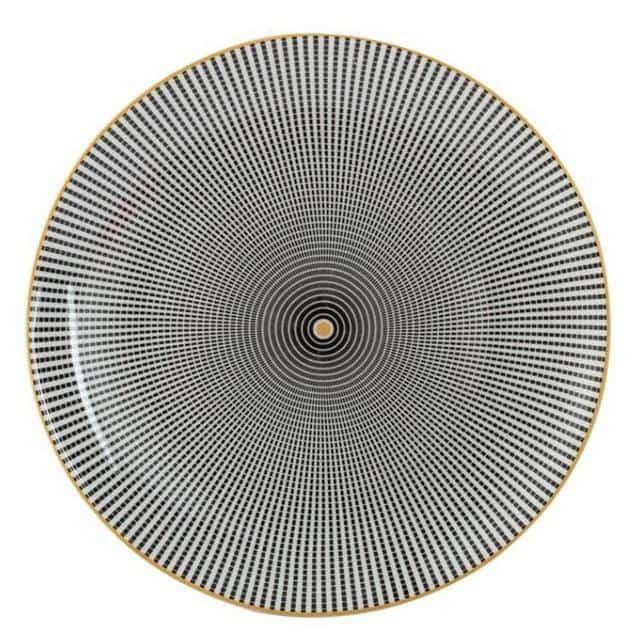Geometry by Celiné Plates Hypo by Celiné / 8 inch / 6 pcs