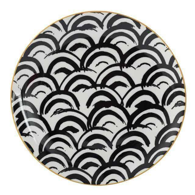 Geometry by Celiné Plates Fornetty by Celiné / 8 inch / 6 pcs