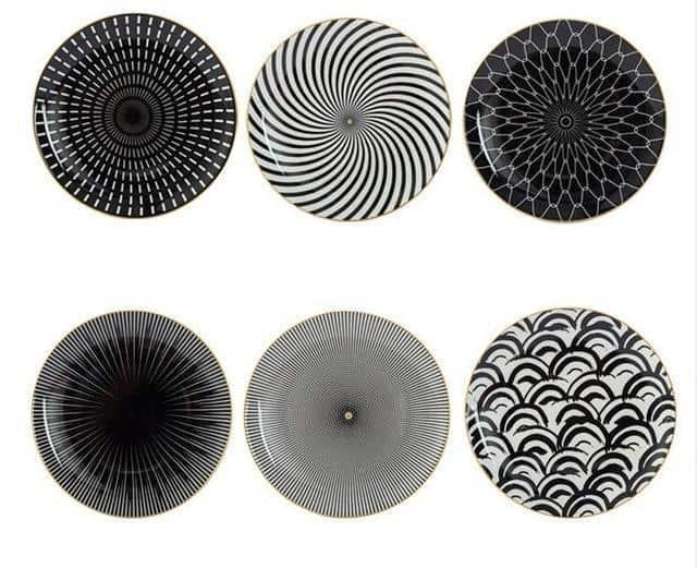 Geometry by Celiné Plates Gorgeous Mix / 10 inch / 1 pc