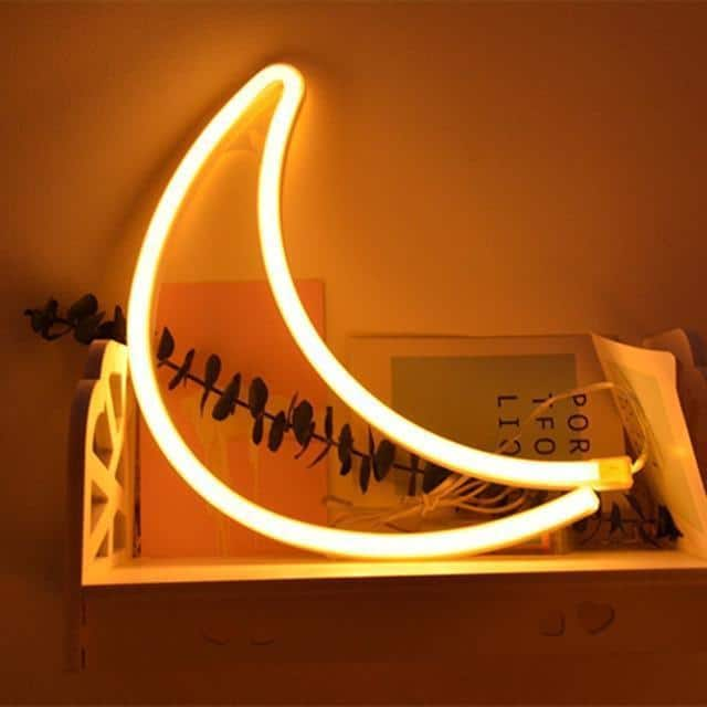Superstar Neon F7 Table/Wall Lamp Table/Wall lamp Moon