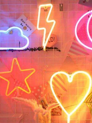 Superstar Neon F7 Lamp