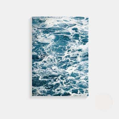 Fantastic Open Sea | Unframed Canvas Art unique and elegant Canvas print - Wall Art Fantastic waves / 50X70cm