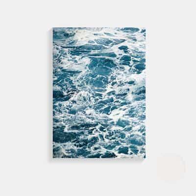 Fantastic Open Sea | Unframed Canvas Art unique and elegant Canvas print - Wall Art Fantastic waves / 50X70cm