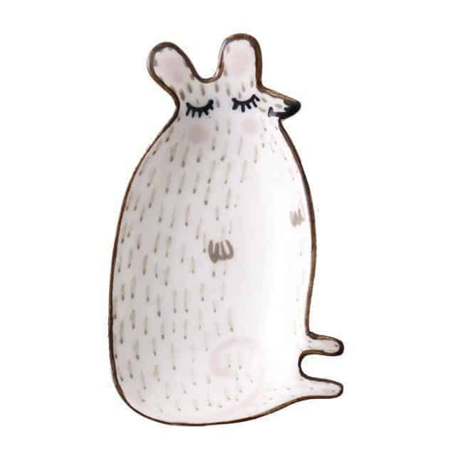Anne Svensson Decor/Kitchen Plate unique and elegant Tray Cute Mouse