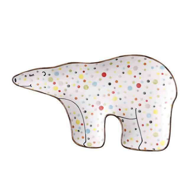 Anne Svensson Decor/Kitchen Plate unique and elegant Tray Ice Bear
