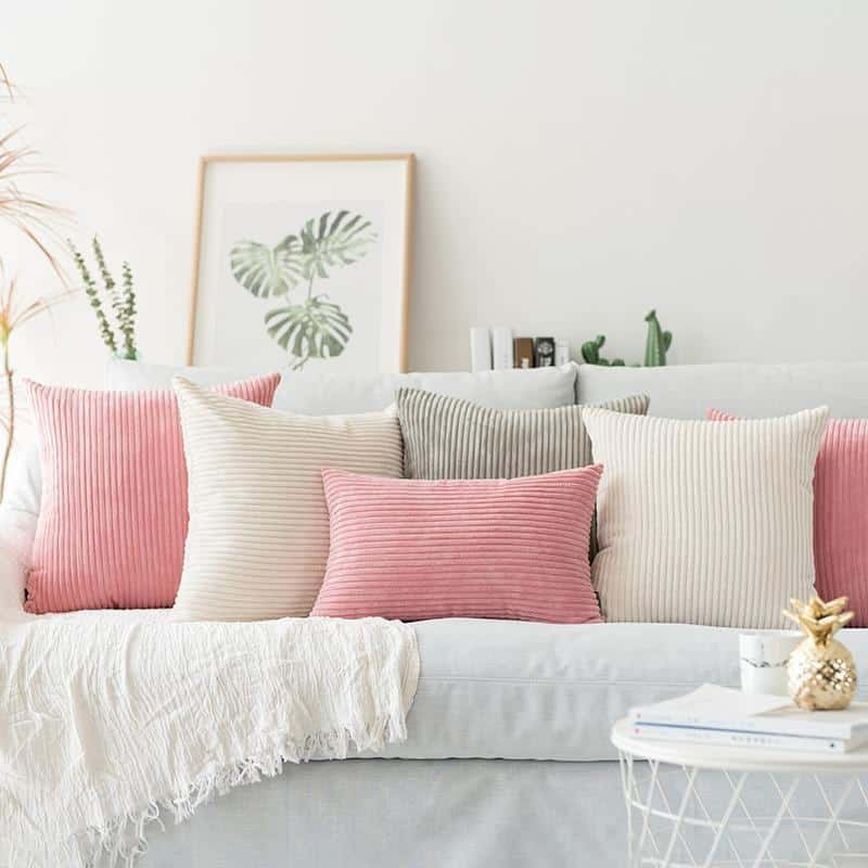Flocking Cushion by Celiné Pillow