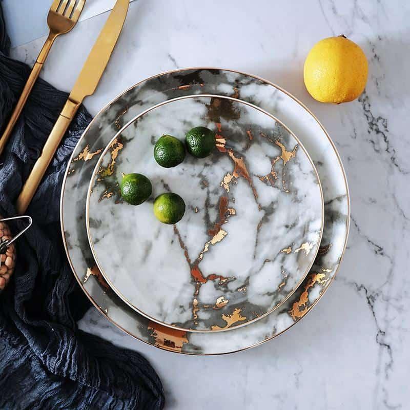 West Point by Celiné Plate unique and elegant Plates