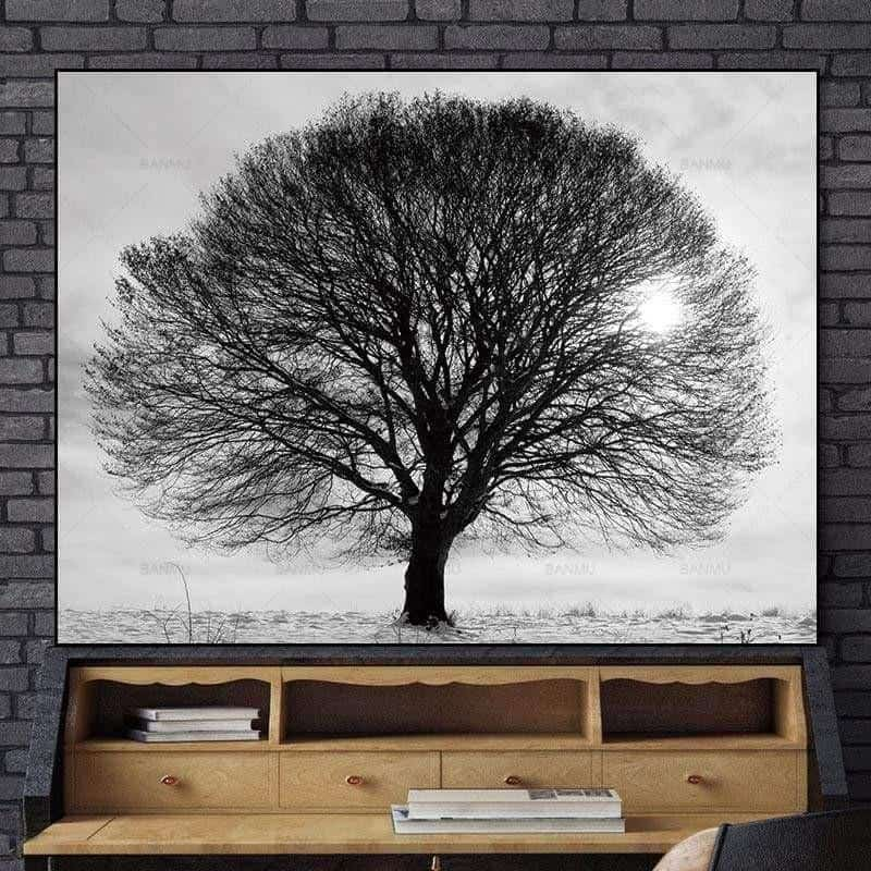 One And Very Big Canvas print - Wall Art 60X90cm
