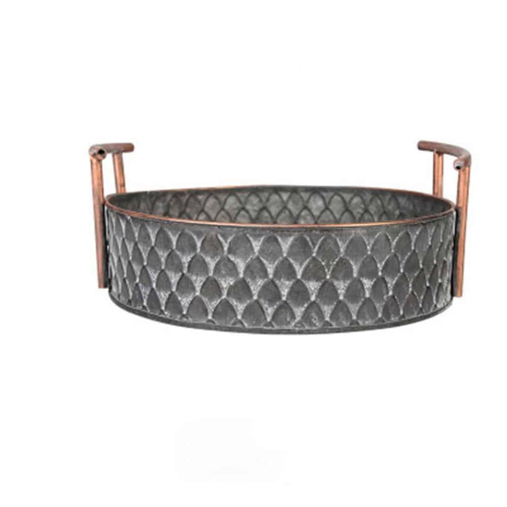 Ruby Winters Metal Storage Basket Basket Medium