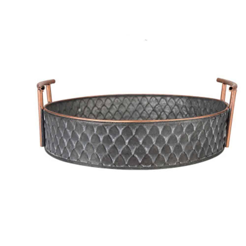 Ruby Winters Metal Storage Basket Basket Large