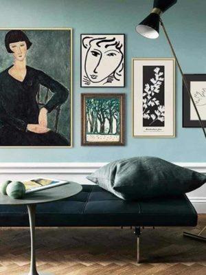 Frida Khalo And Life | Unframed Canvas Art