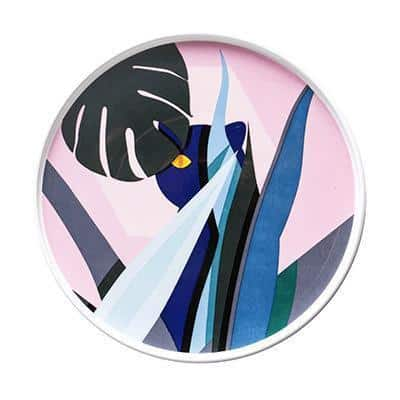 Renard Adorable Abstract Plate Plates Forest