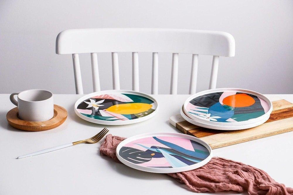 Renard | Colorful Abstract Plate | Dinnerware Set