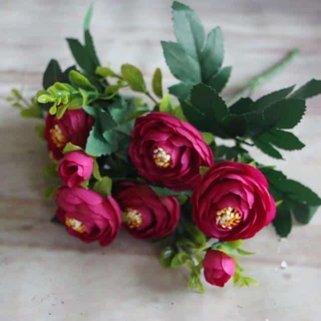 Peony Flowers by Hannes Malmström Artificial Flowers Purple