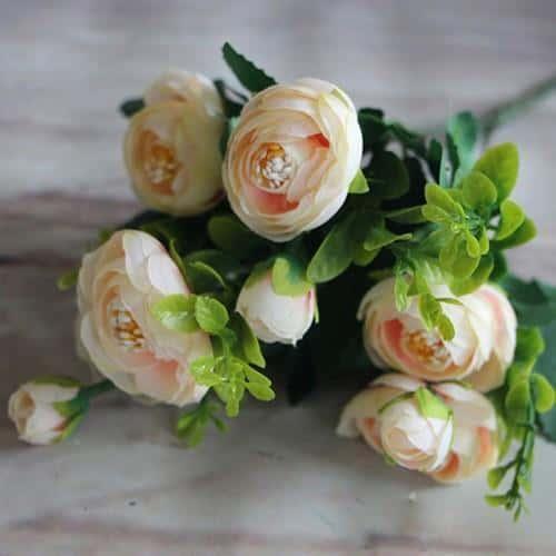 Peony Flowers by Hannes Malmström Artificial Flowers Light