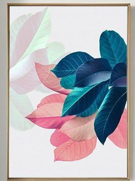 Colorful Flowers & Appeasement   Unframed Canvas Art unique and elegant Canvas print - Wall Art A / 50X70cm