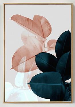 Colorful Flowers & Appeasement   Unframed Canvas Art unique and elegant Canvas print - Wall Art B / 50X70cm