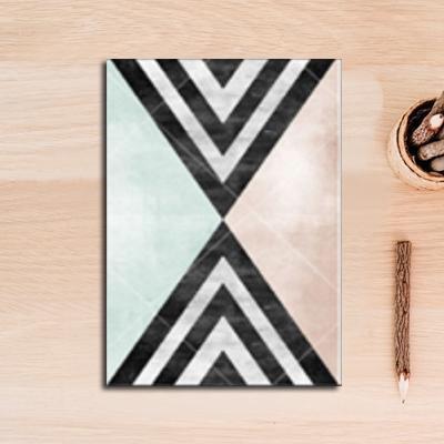 Nordic Essentials Two Canvas print - Wall Art Hypnotic triangle / 60x90 cm