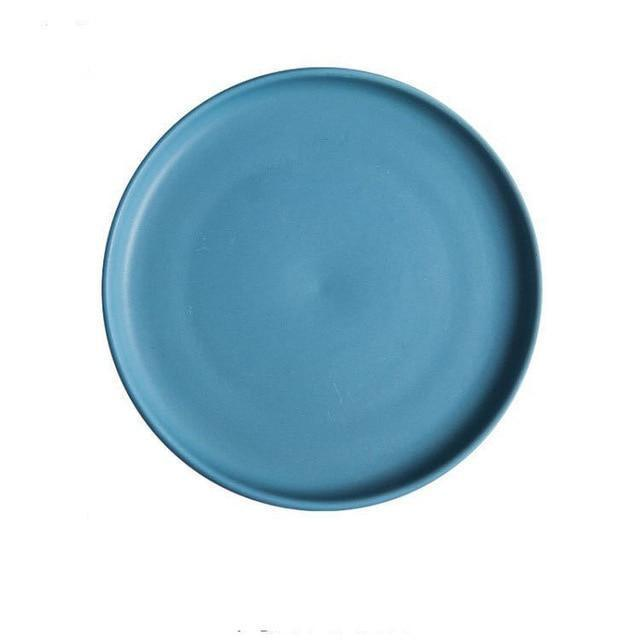 Arcane by Guardian Dinnerware unique and elegant Plates Ocean blue / 8 inch