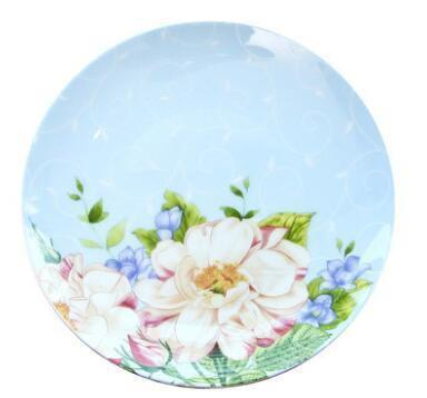 Alice Wonderland Plate unique and elegant Plates Alice in the Clouds / 10 inches