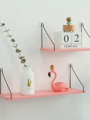 Peaceful Shields | Decorative Floating Shelf