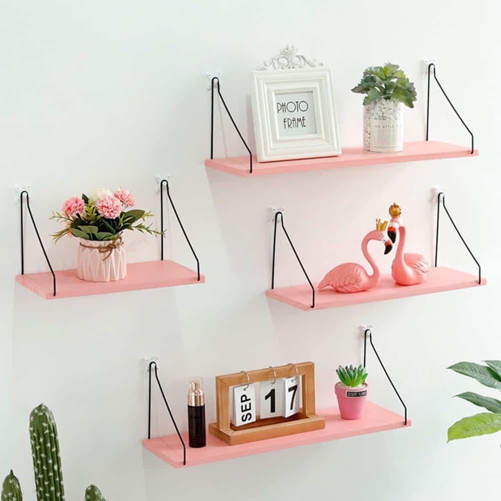 Peaceful Shields | Decorative Floating Shelf