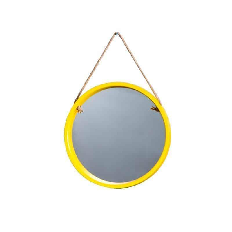 Malik Coloth Pendant Round Mirror Mirror