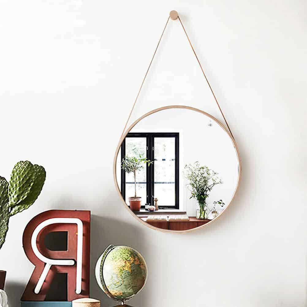 Clearical Round Mirror