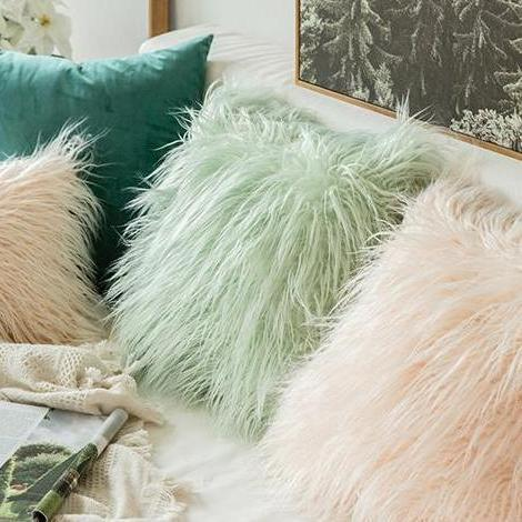 Comfy Fluffy Faux Celiné Cushion